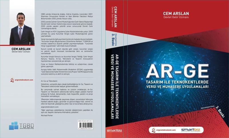 Ar-Ge Tasarım ile Teknokentlerde Vergi ve Muhasebe Uygulamaları Kitabı
